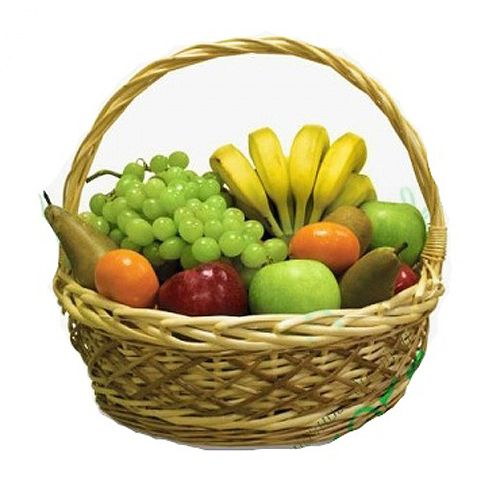 Купить на заказ Корзина с фруктами 4 с доставкой в Нур-Султане