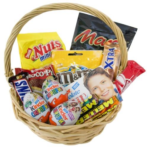 Купить на заказ Корзина сладостей 2 с доставкой в Нур-Султане