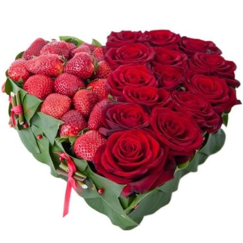Купить на заказ Сердце №3 с доставкой в Астане