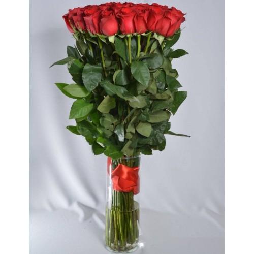 Купить на заказ 51 метровая роза с доставкой в Нур-Султане