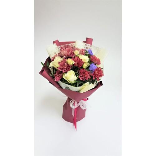 Купить на заказ Mini bouquet 7 с доставкой в Нур-Султане