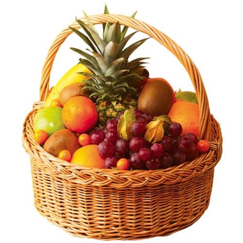 Картинка корзинка с фруктами, днем татьяны