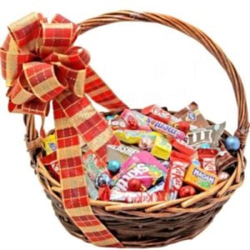 Купить на заказ Корзина сладостей 1 с доставкой в Нур-Султане