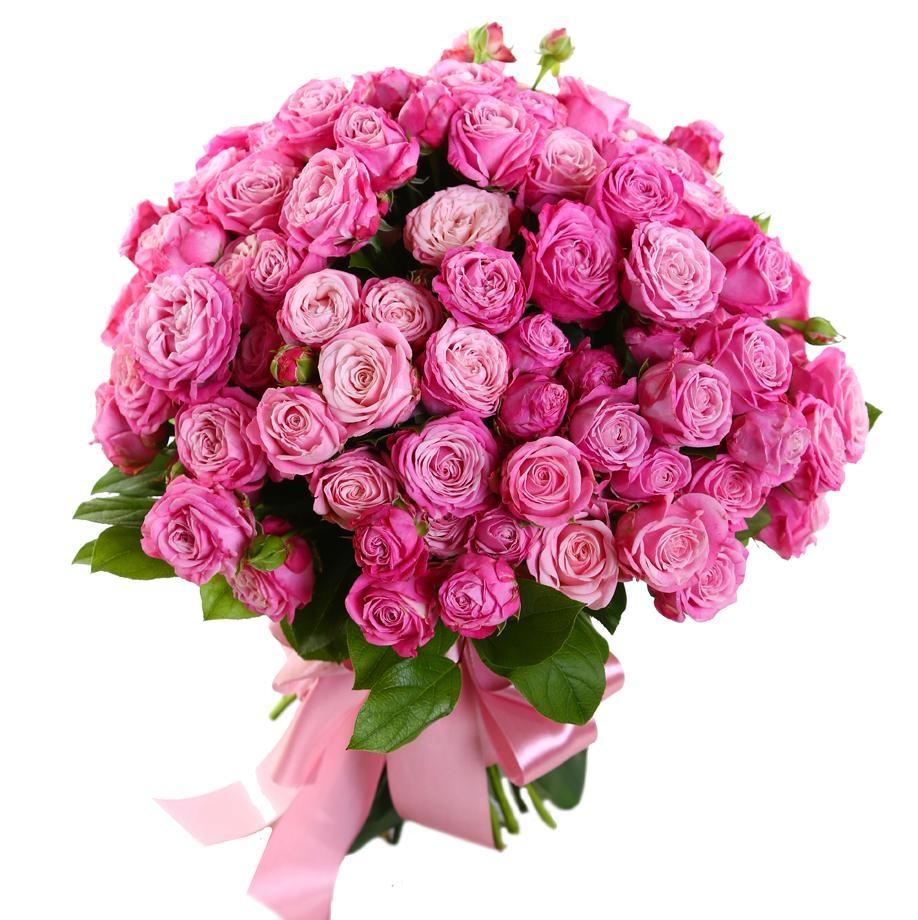 Кустовые розы в Казахстане